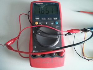Red lead voltage drop