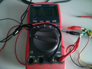Black lead voltage drop