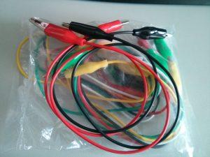 Aligator clip cables